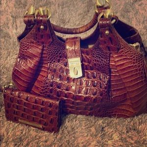 Brahmin bag &wallet